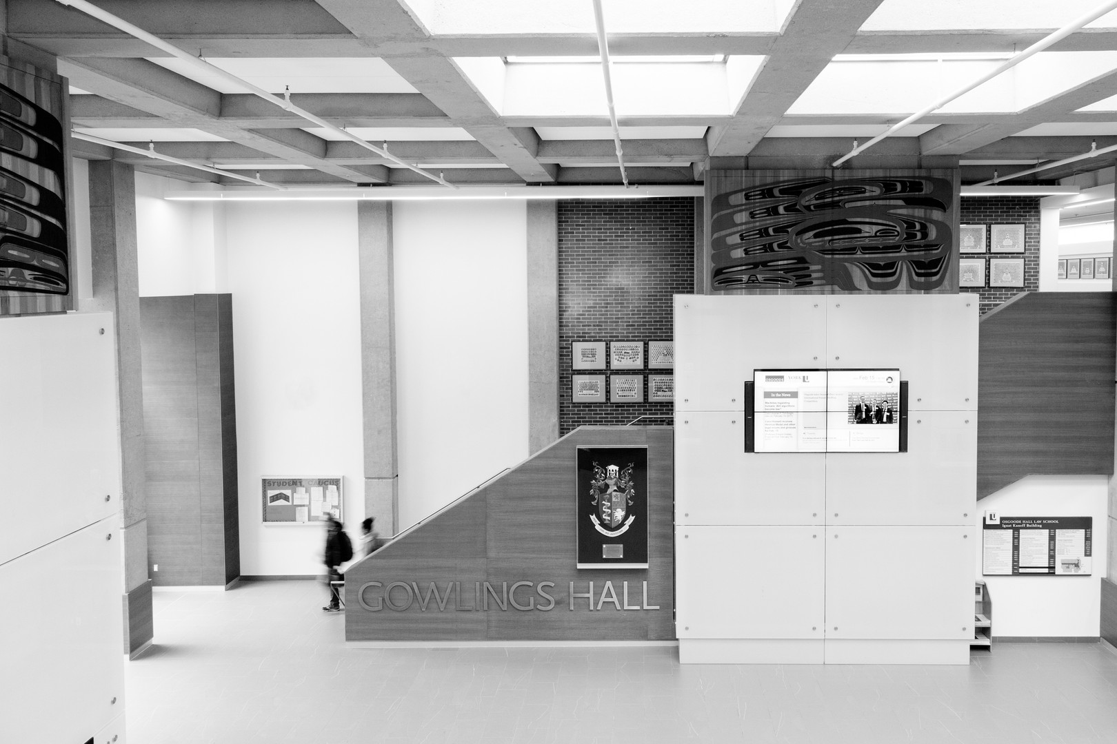 Law Commission of Ontario York University Library Black and White - Corporate Photography