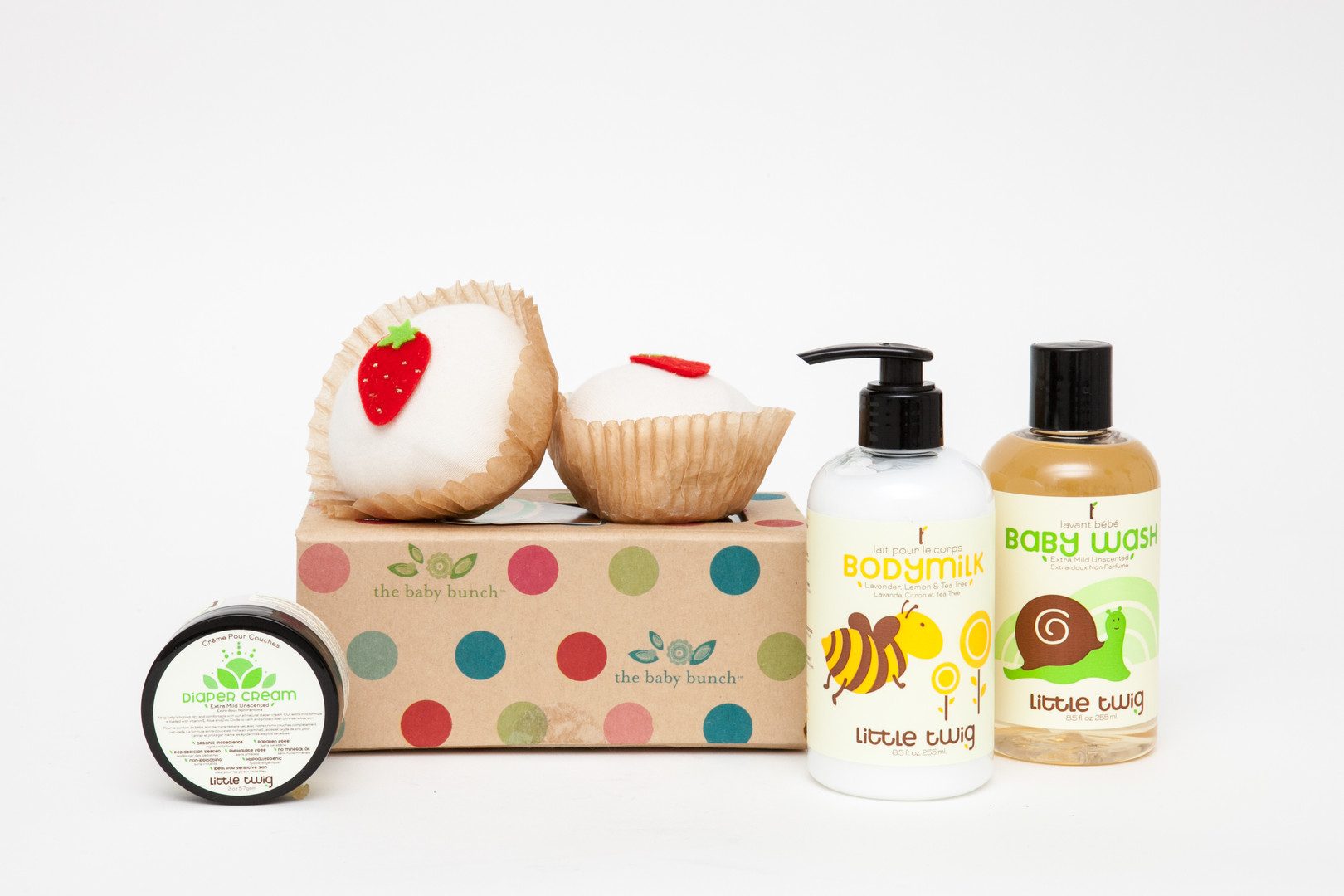 The Baby Bunch Product Photography - Soap and Cream