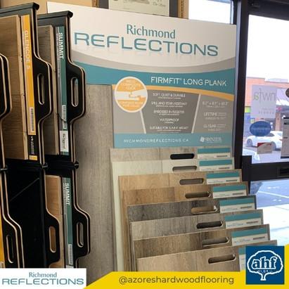 Reflections Flooring Sample Display