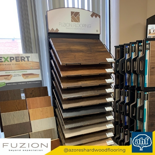 Fuzion Flooring Sample Display