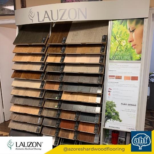 Lauzon Flooring Sample Display 1