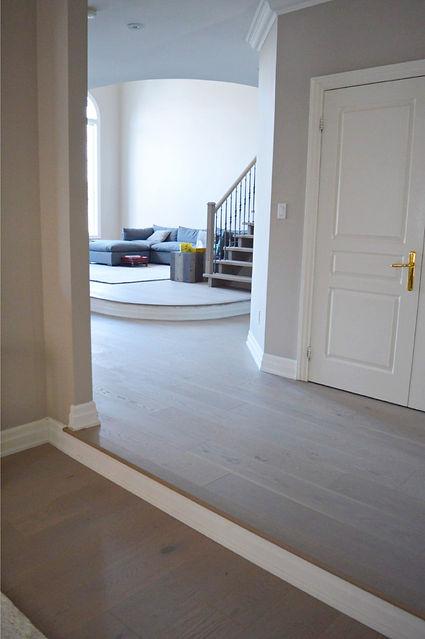 Full Home Light Hardwood Flooring Renovation by Azores Hardwood Flooring