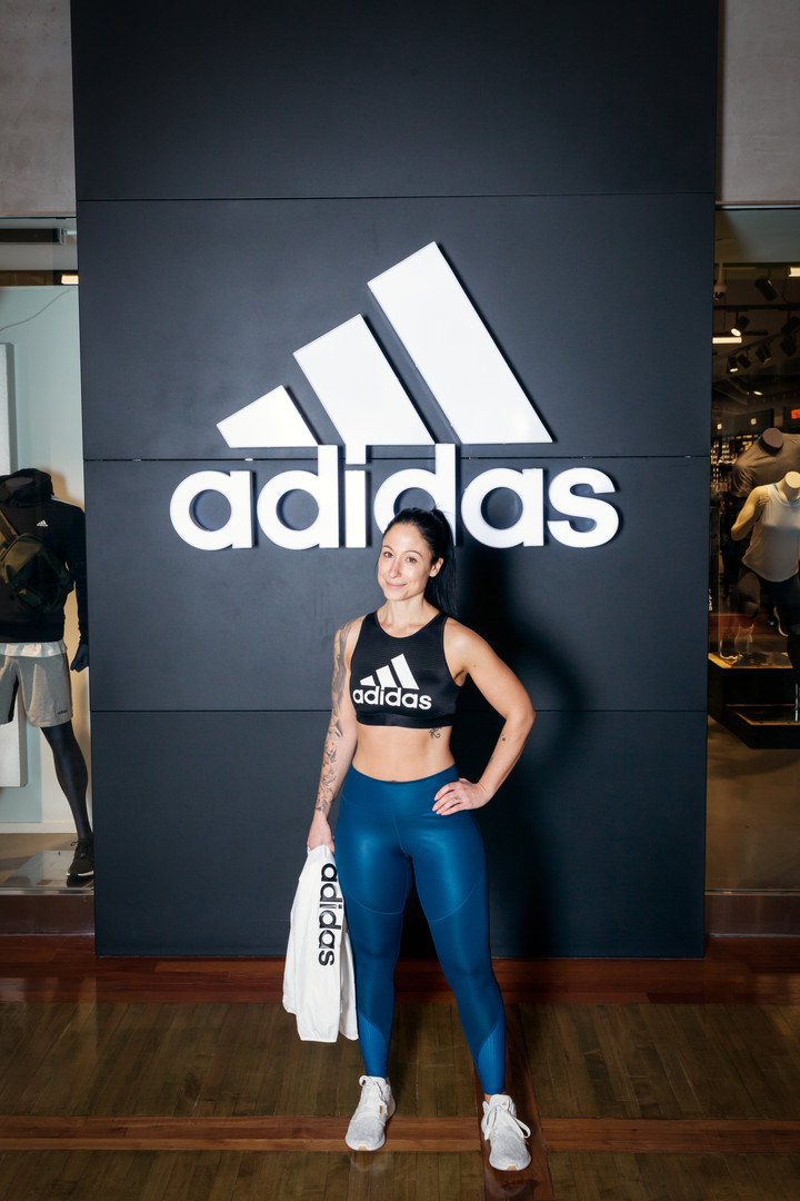 Denise owner of Fit In The Now at Vaughan Mills Mall in Ontario