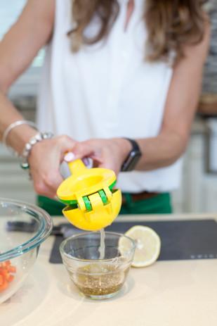 Viky Rose Influencer Blogger Entrepreneur Photoshoot - Squeezing Lemon