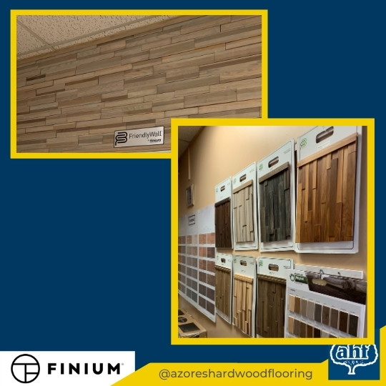 Finium Feature Wall Samples