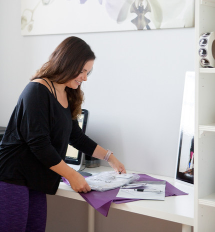 Antonella owner of My Legwear Shop Personal Brand Photography - Packaging Product