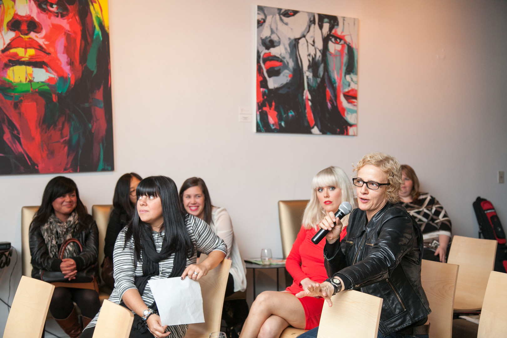 Women in Music Event Photography Downtown Toronto Audience