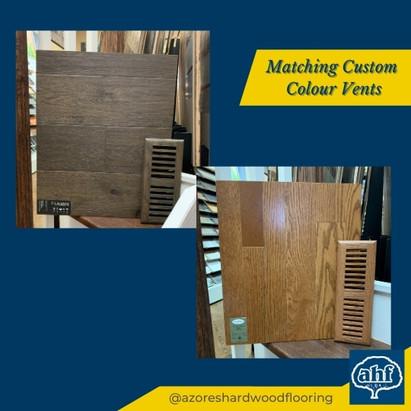 Matching Custom Colour Vents