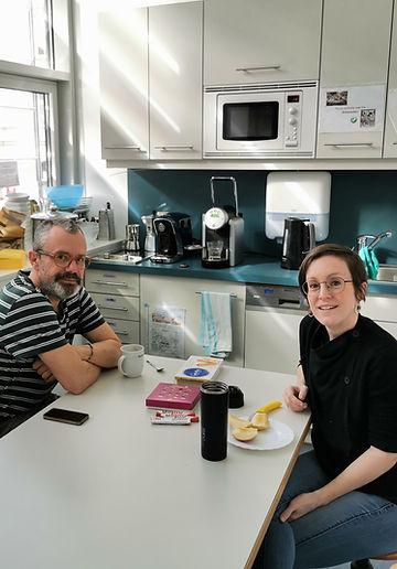 Meeting von Eva Koenig und Franz Reisecker