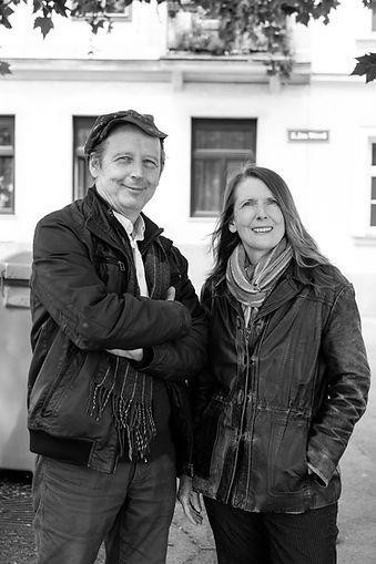 Portrait Evelyn Blumenau und Walter Kreuz Geckoart