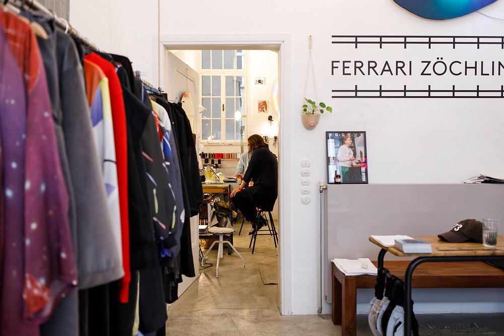 Im Atelier von Ferrari Zöchling, ©Max Kropitz/ St. Anna Kinderkrebsforschung
