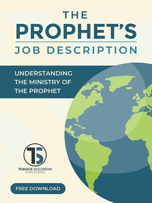 The Prophet's Job Description Free Download