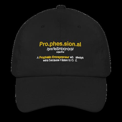 Prophessional Dad hat