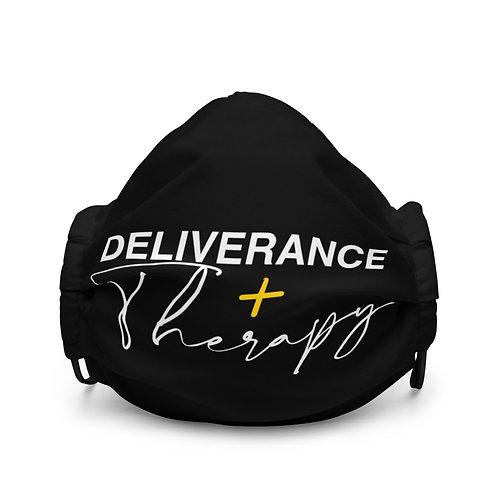 Deliverance & Therapy Premium Face Mask