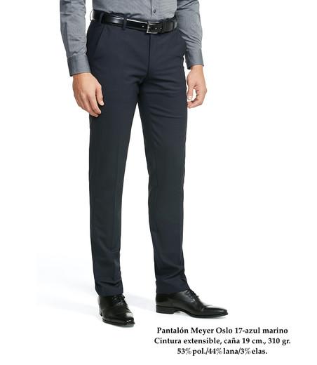 Pantalón Meyer Oslo 17-azul marino
