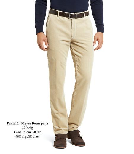 Pantalón Meyer Bonn 32-beig pana