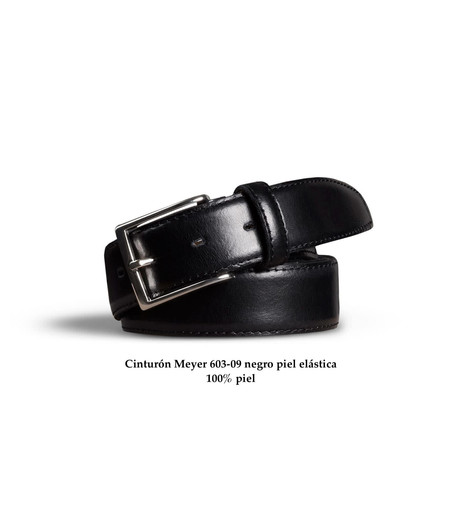 Cinturón Meyer piel negro