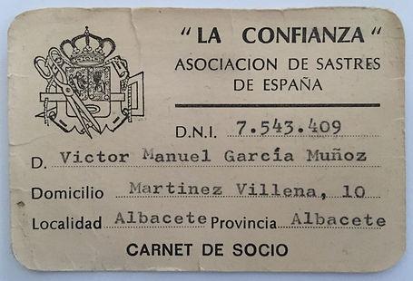 Sastreria a medida Victor Garcia