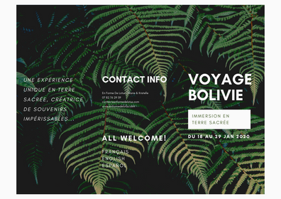 Bolivia Retreat Brochure