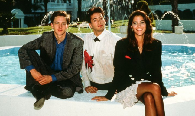 Less Than Zero Christmas Party.Less Than Zero 1987