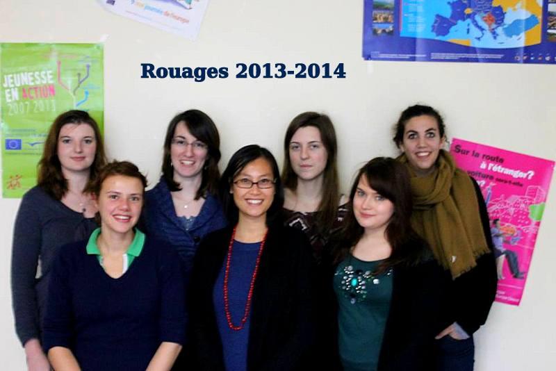 Bureau Rouages de 2013/2014