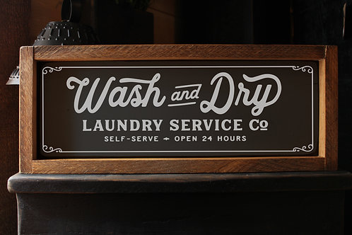 Wash and Dry