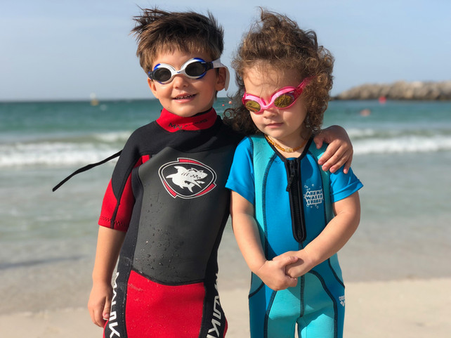 Mummy, I'm swimming and I'm freezing: How long should a child stay in the water?