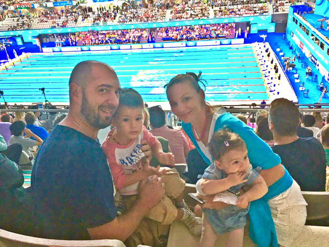 7 tips: How to deal with your children under the age of 2 at the World Swim Championship