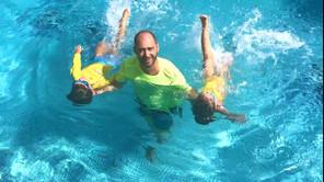 Da li je plivanje sa tatom drugačije?
