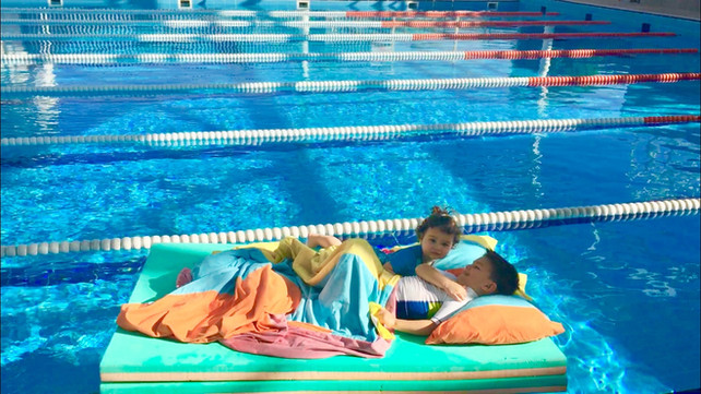 Charge your batteries and swim: day break, nap…