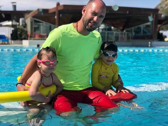 Uloga roditelja u plivanju