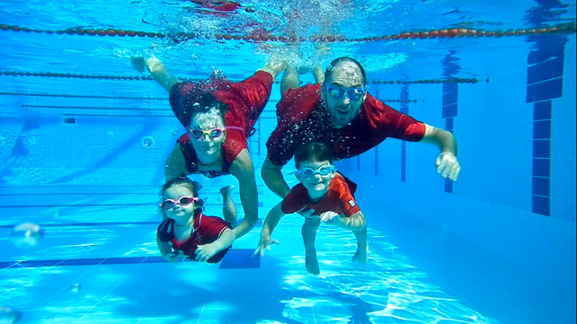 Family and swimming: My relay race