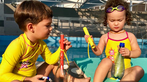 Plivanje sa decom: Tata nije moj trener!
