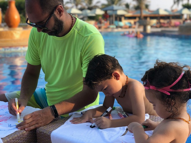 Why are swimming and drawing important for a proper child development?