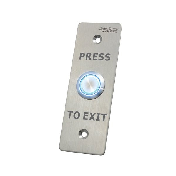 Press to Exit Button With LED