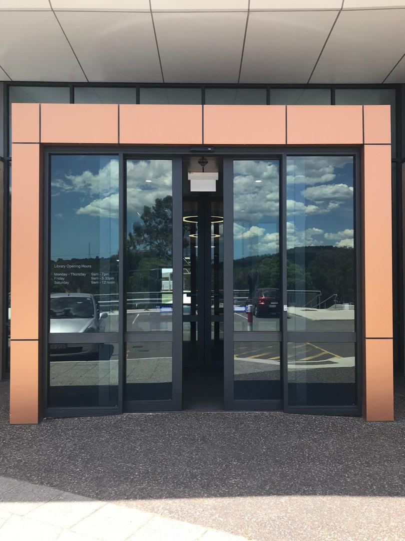 Automated Bi-Parting Sliding Doors