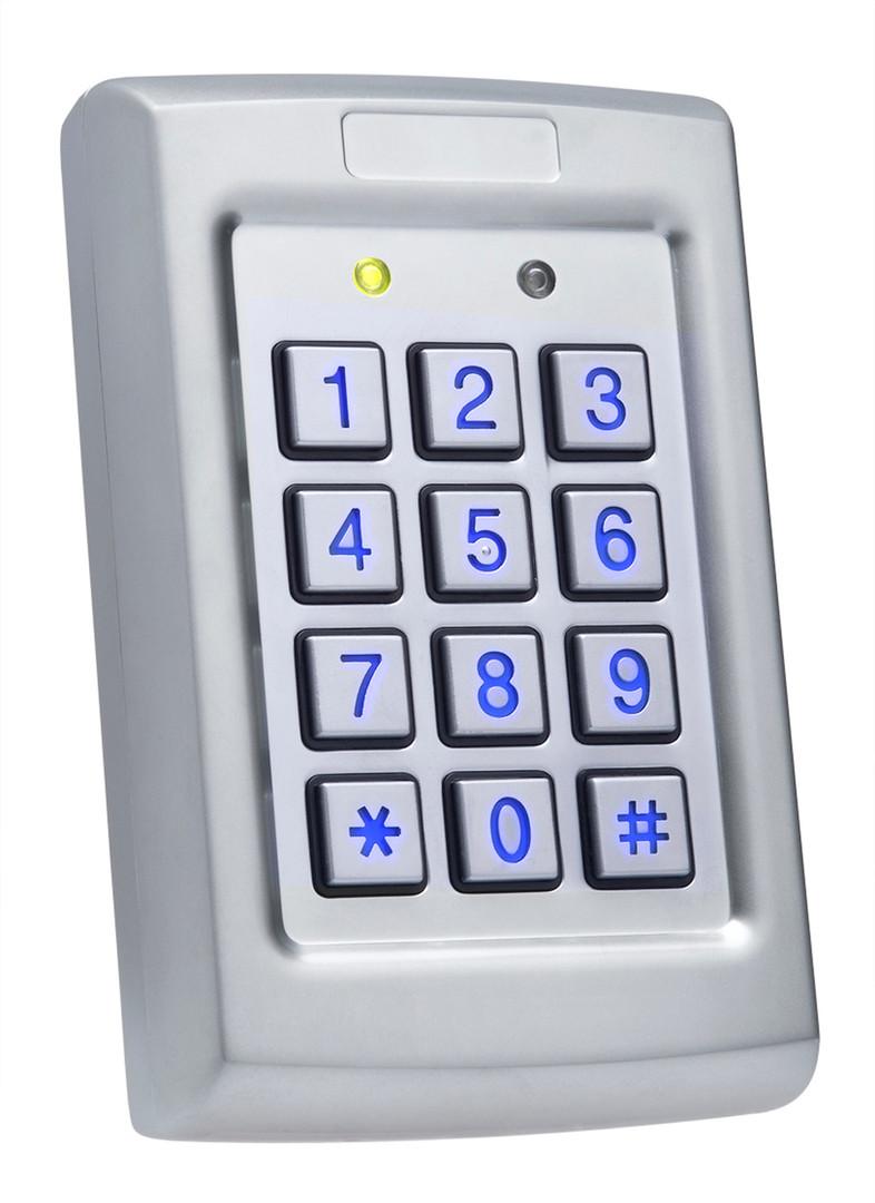 Rosslare AC-Q41SB Anti-Vandal Backlit Keypad