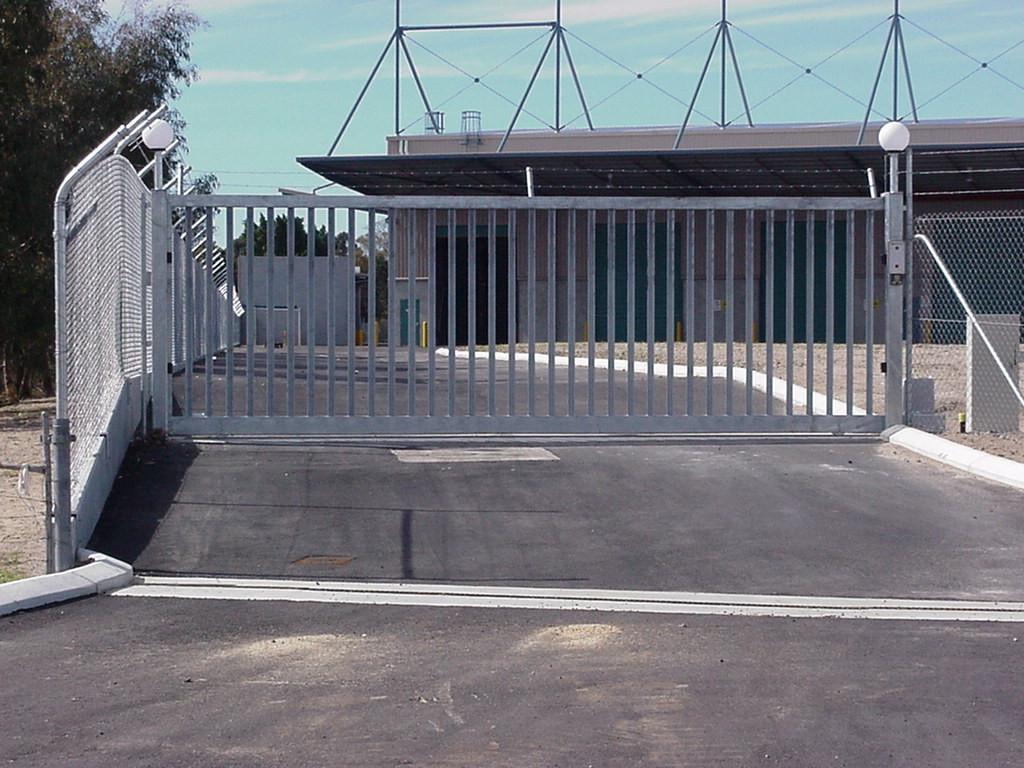 Commercial 6m Sliding Gate