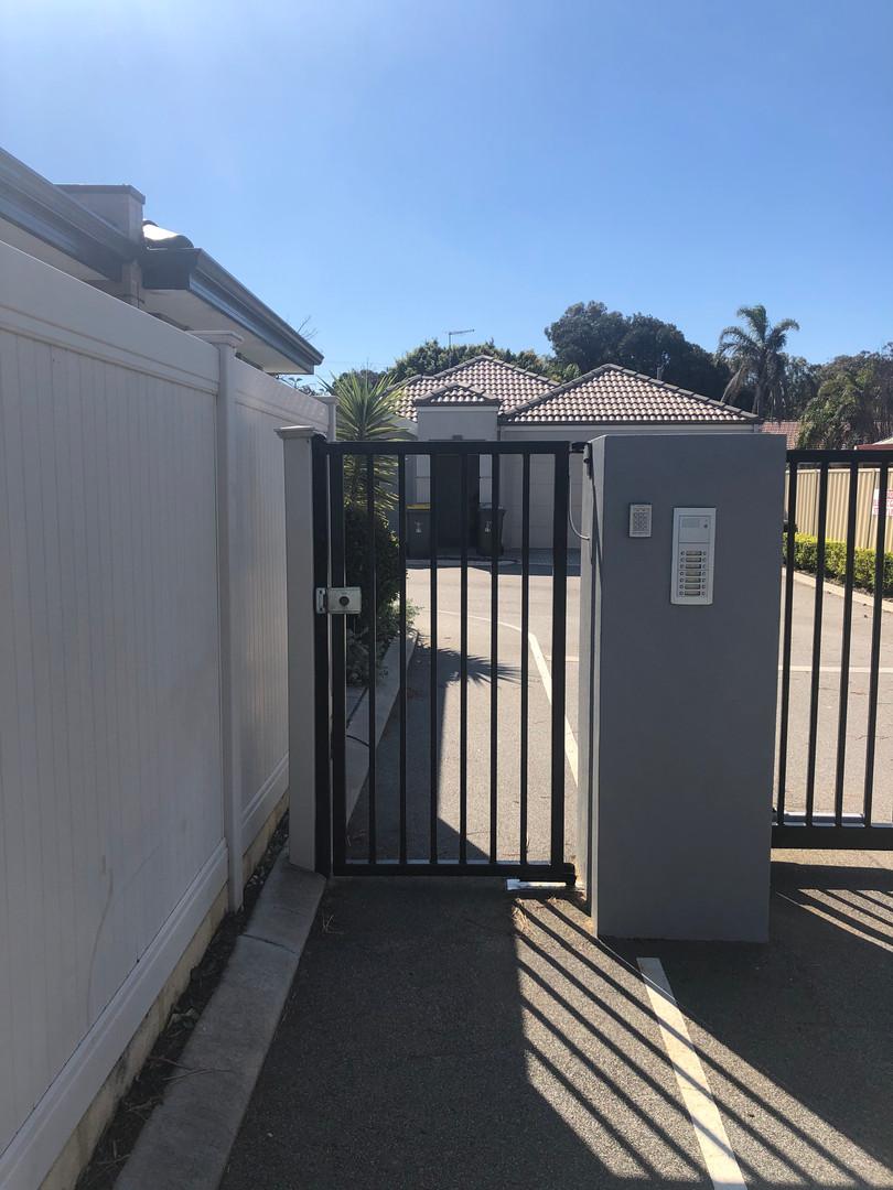 Pedestrian Access Gate