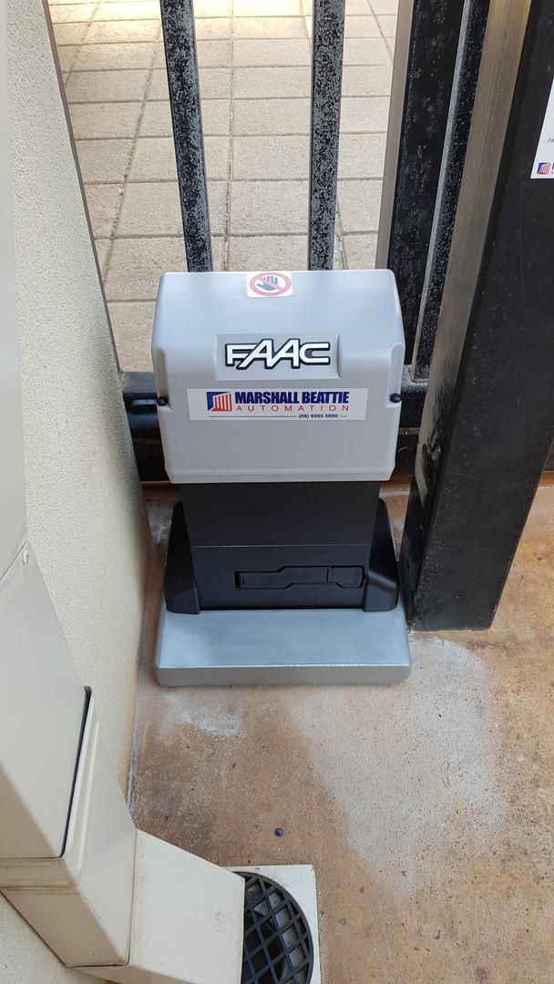 FAAC 844 Sliding Gate Motor