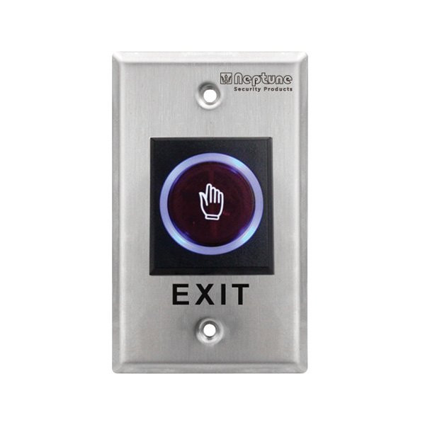 Touchless Exit Button with LED