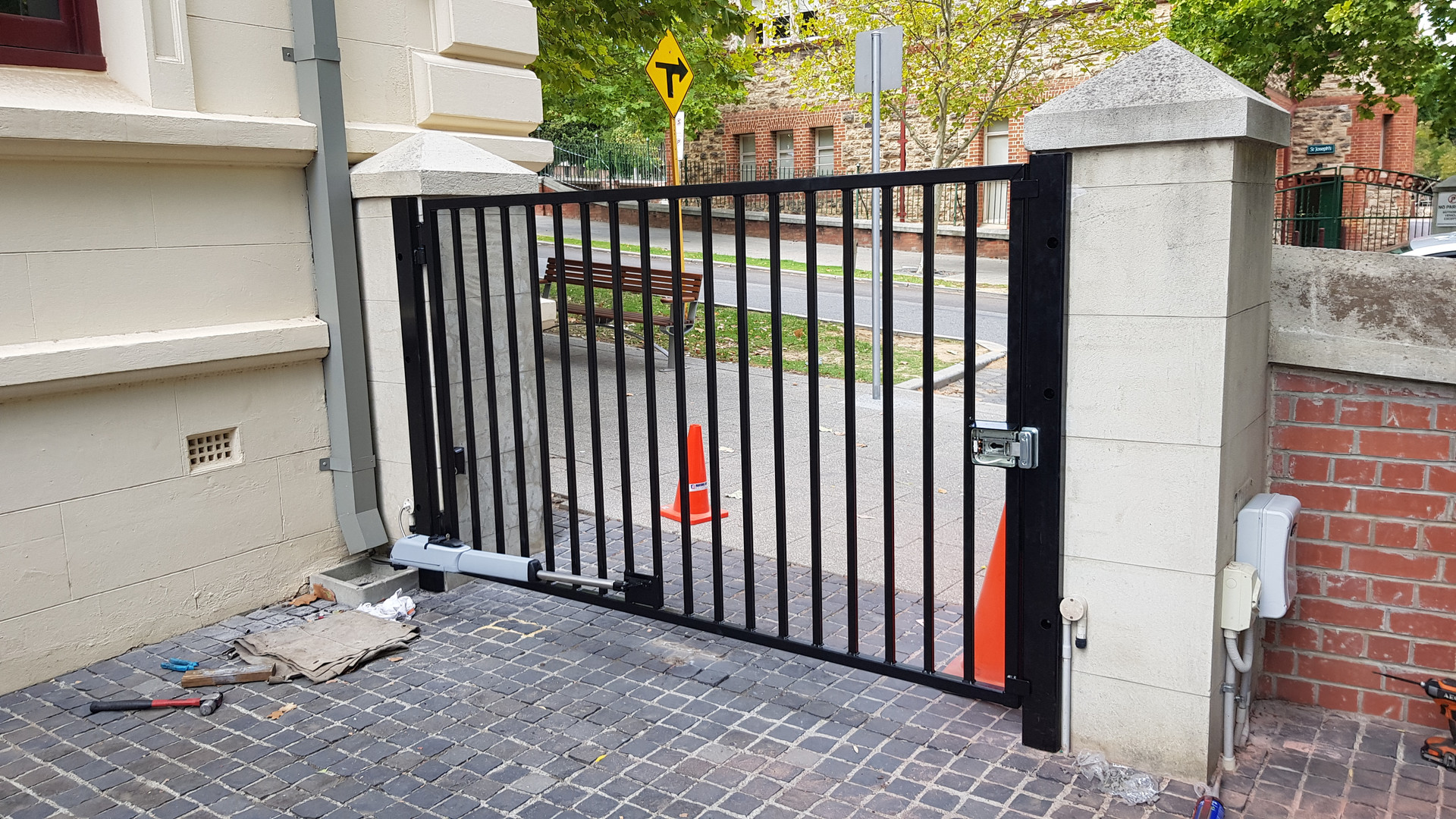 Automated Swing Gate