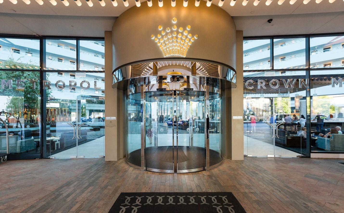 Entrance at the Crown Metropol Perth