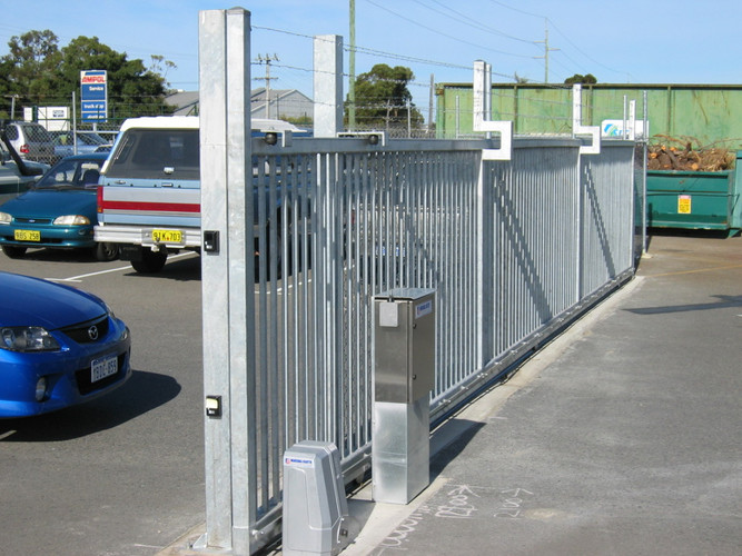 Industrial Automated Sliding Gate