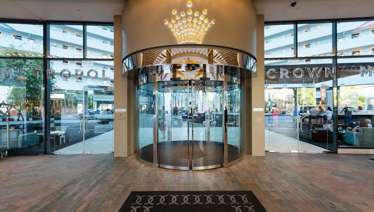 Entrance at the Crown Metropol Perth