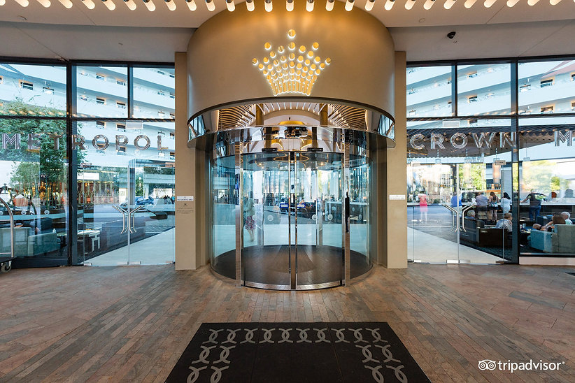 Marshall Beattie Automation - Entrance at the Crown Metropol Perth