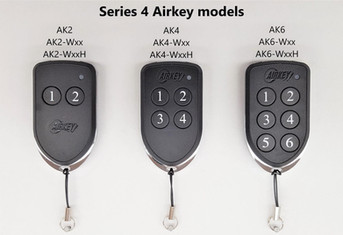 AIRKEY Series 4 Model Remotes
