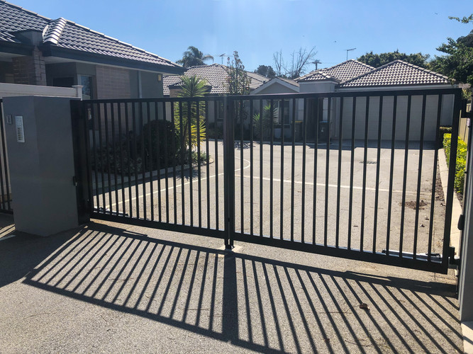 Automated Double Swing Gate