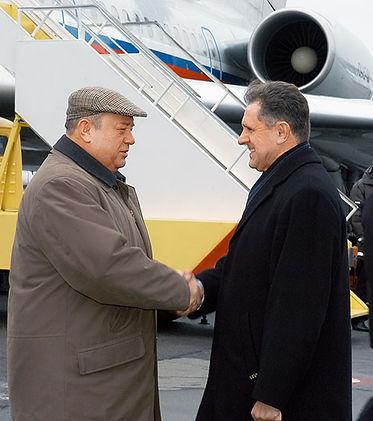 Александр Александрович Волков, Первый Президент Удмуртии и Михаил Фрадков