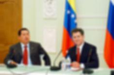 Александр Александрович Волков, Первый Президент Удмуртии и Уго Чавес